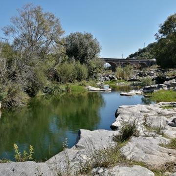 Alcantara River - San Nicola bridge - Alcantara Valley